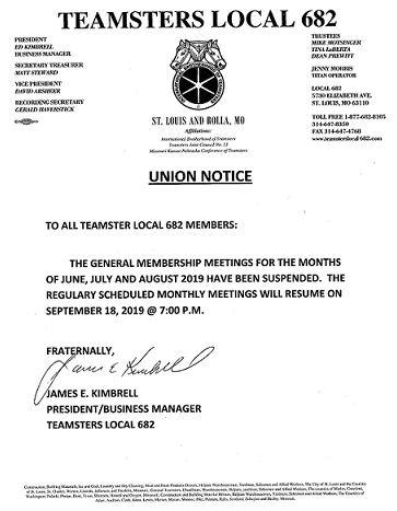 Teamsters Local Union No 682